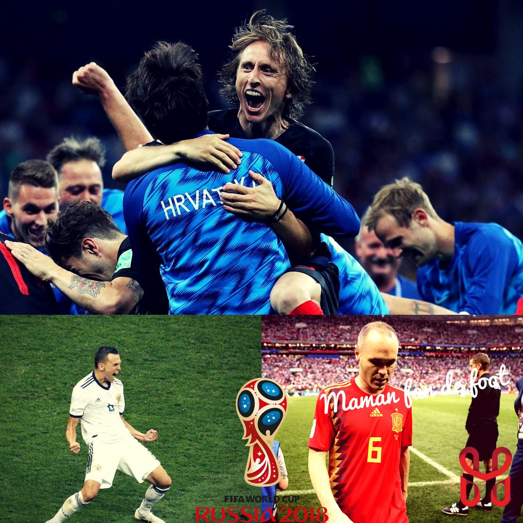 Mondial 2018, huitièmes de finale (2)