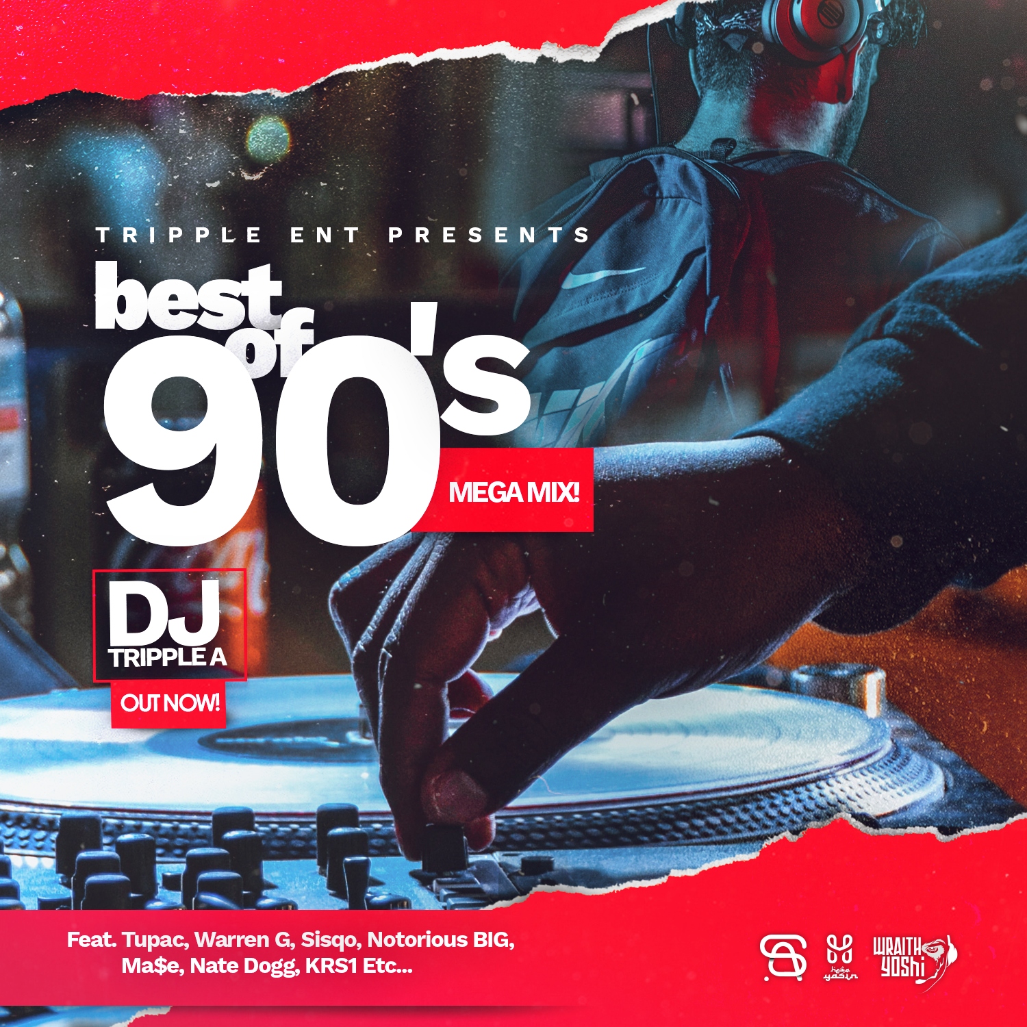 DJ Tripple A - Best of 90's Mega Mix